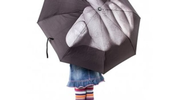 "Available at INKEDSHOP.COM: ""Fuck the Rain"" Umbrella"