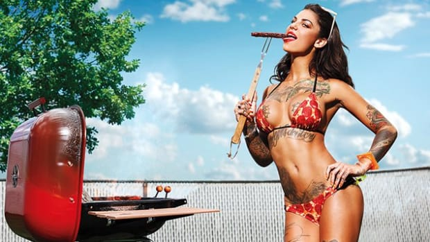 Pornstar Bonnie Rotten, photographed by Christian Saint for Inked Magazines Sex Issue.