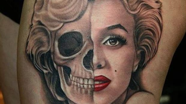 Marilyn Monroe Two Face feature