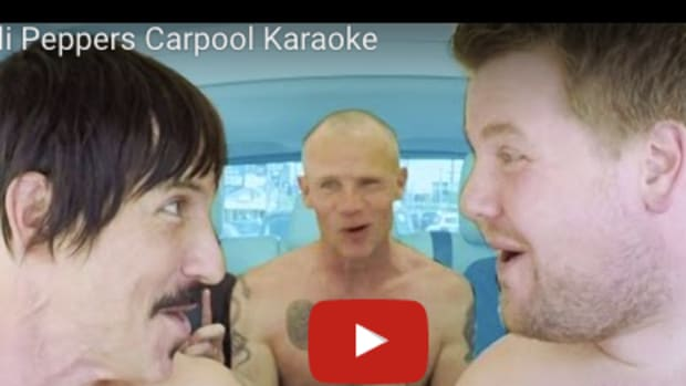 chili peppers carpool karaoke