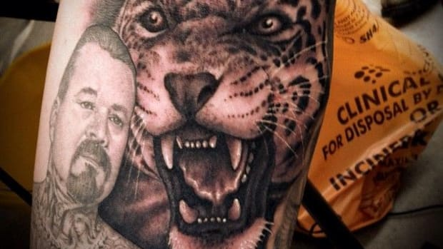 Jaguar Tattoo - Tim Hendricks