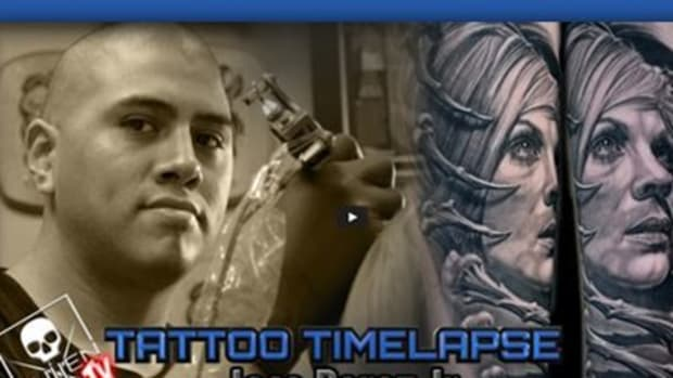 SullenTV-Tattoo Time Lapse with Jose Perez Jr.
