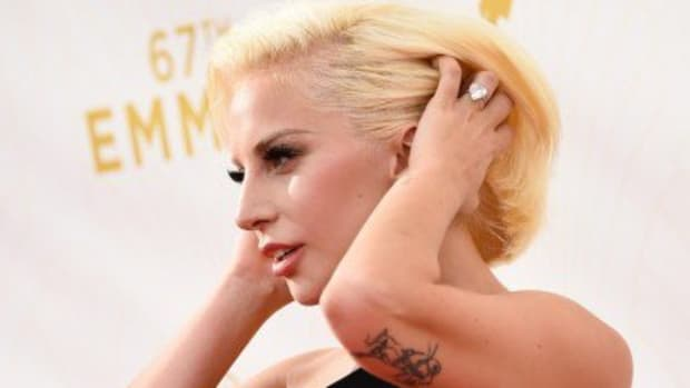 LOS ANGELES, CA - SEPTEMBER 20:  Singer/actress Lady Gaga attends the 67th Annual Primetime Emmy Awards at Microsoft Theater on September 20, 2015 in Los Angeles, California.  (Photo by Frazer Harrison/Getty Images)