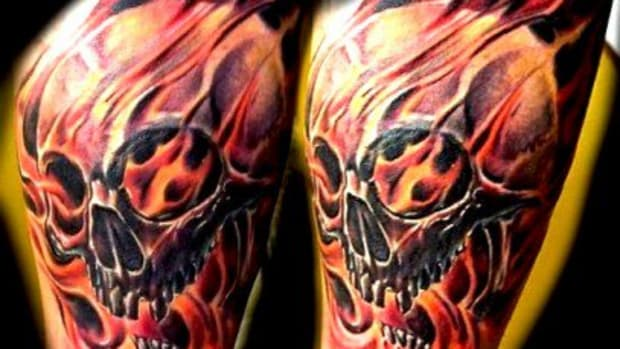 fire-n-flame-skull-tattoo