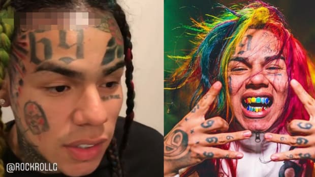 6ix9ine face fb