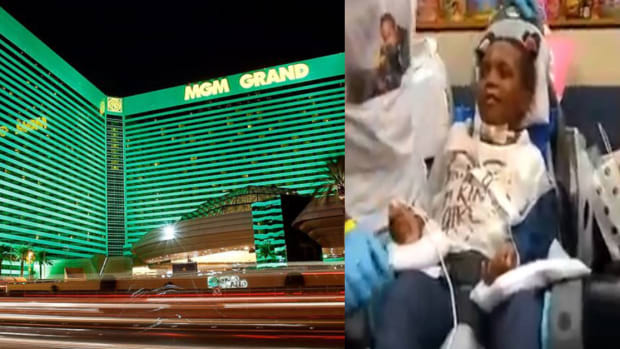 MGM handrail, girl electrocuted mgm, mgm resort, mgm lawsuit, Zynae Green, Rydricka Rosier, bizarre lawsuits