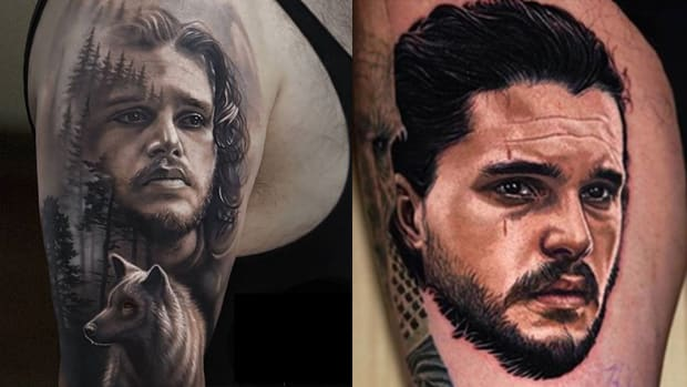 jon snow tattoo fb