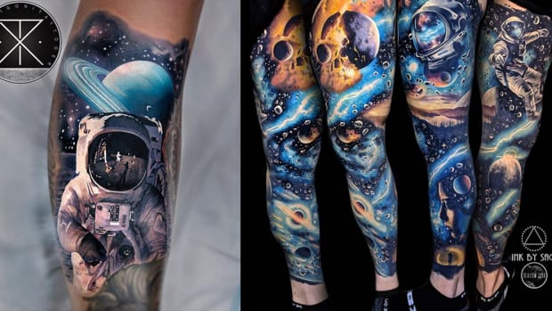 astronaut tattoo fb