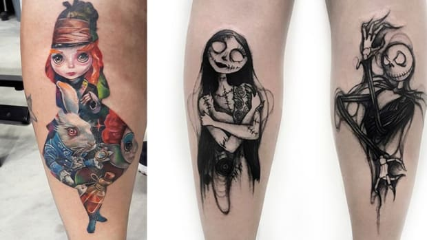 tim burton tattoos fb