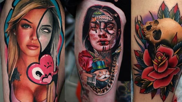 ddd0118d4 75 Gorgeous Mixed Style Tattoos by Some of the World's Best Artists