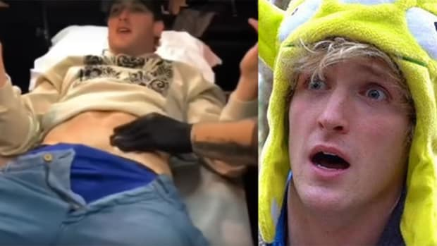 logan paul tattoo fb