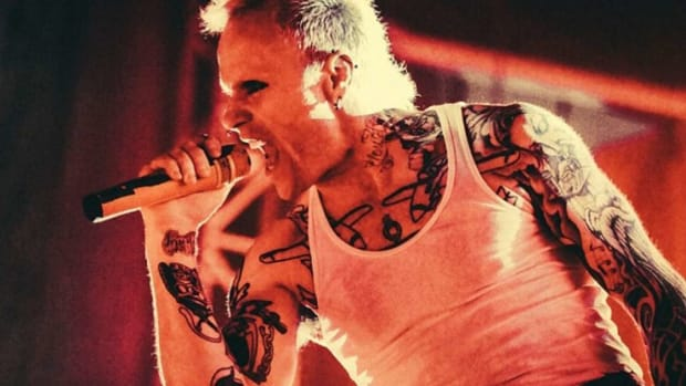 Keith flint, Keith flint death, the prodigy, the prodigy frontman dies at 49, INKED, Keith flint tattoos, Tess Adamakos