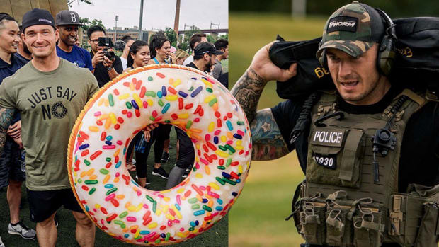 tattooed and employed, nypd's fittest, Michael Counihan, nodonutshere, tattooed cops, 1rst phorm, inked