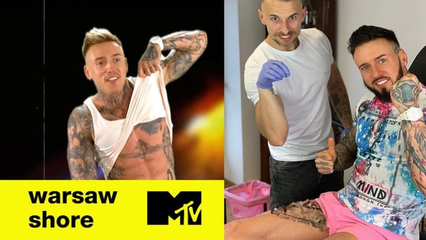 Damian Stifler Zdunczyk, warsaw shore, warsaw shore stifler, Damian Zdunczyk, penis tattoo, tattoo fail, reality star tattoo, celebrity tattoo, polish reality star, INKED