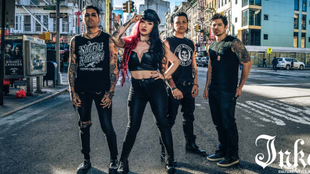 New Years day, New Years day malevolence, New Years day unbreakable, ash Costello, New Years day ash Costello, NYD, INKED