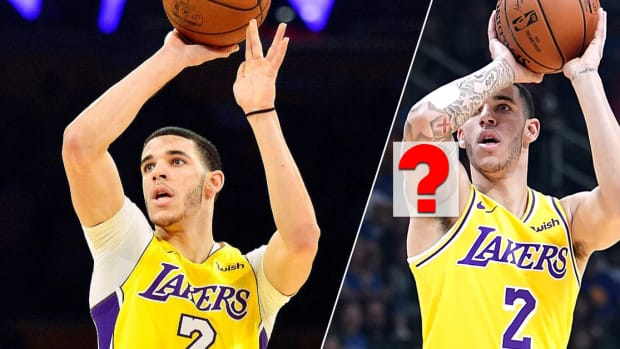 Ball in the Family, LaVar Ball, Lonzo Ball, LiAngelo Ball, Lakers stats, Lakers point guard, Lonzo Ball injury, Lonzo Ball tattoos, NBA tattoos, Herchell L. Carrasco, Lonzo Ball instagram, INKED