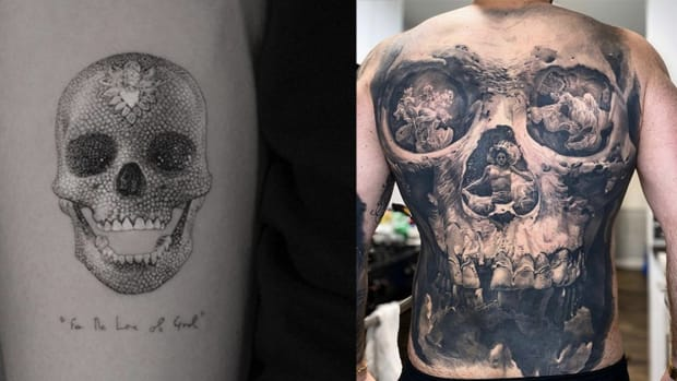 skull tattoo fb