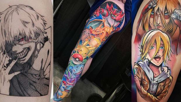 anime tattoos fb