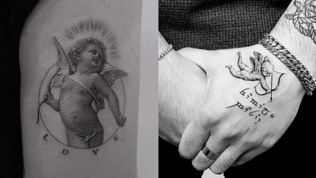 cupid tattoos fb