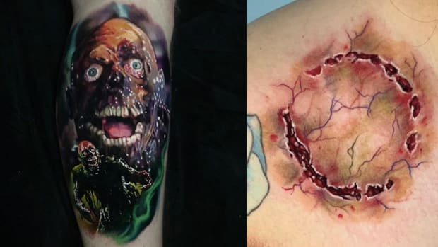 zombie tattoo fb