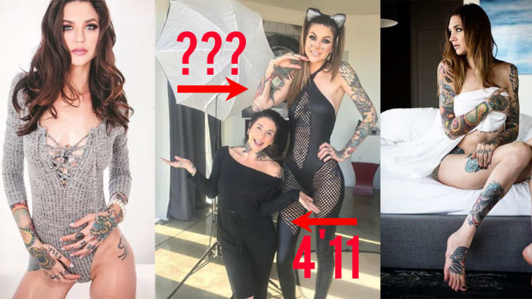 Is She the Tallest Woman in the Adult Film Industry?