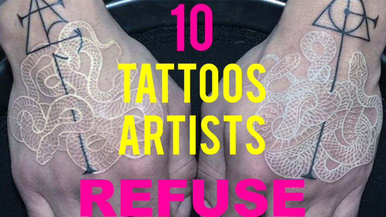 10 Tattoos That Tattoo Artists May Refuse To Do
