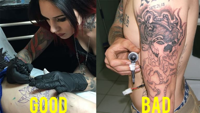 How to Tell a Good Tattoo Artist From a Bad Tattoo Artist