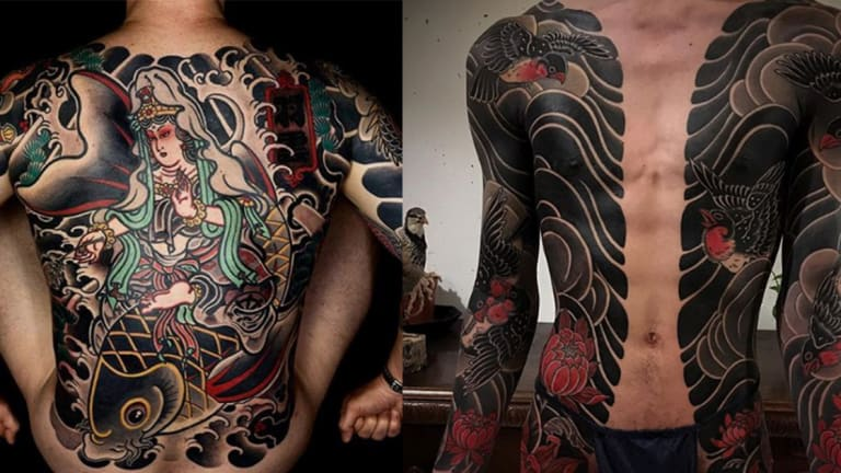100 Amazing Japanese Tattoos by Some of the World's Best Artists