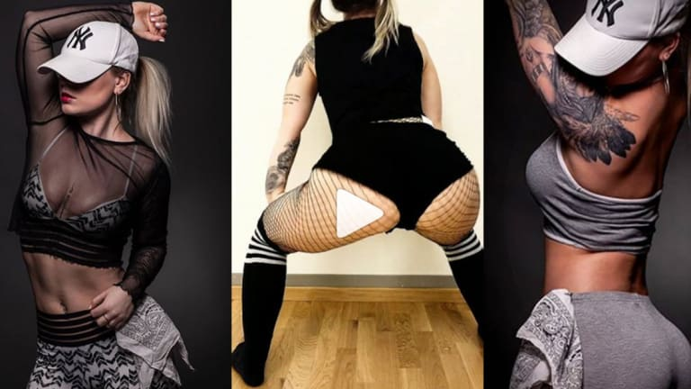 This Swedish Tattoo Apprentice is an Instagram Twerk Sensation