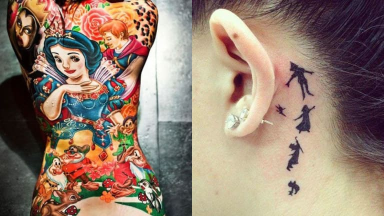 50 Amazing and Magical Disney Themed Tattoos!