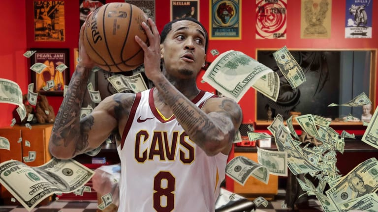 Jordan Clarkson's Tattoo Artist Estimates How Much He's Spent This Year on Tattoos