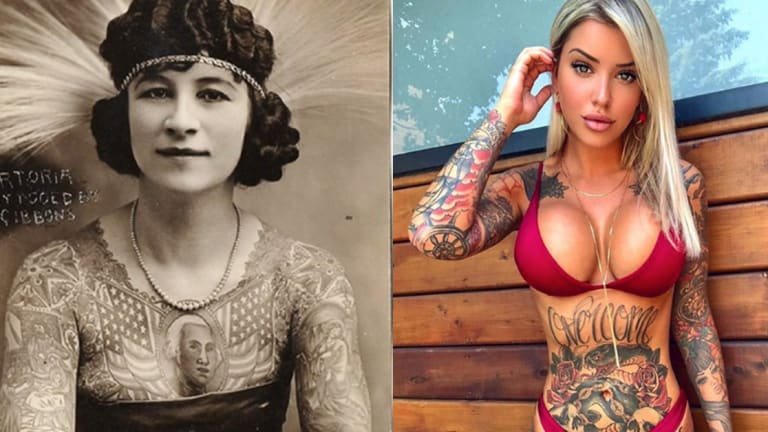 Beautiful Freaksmeet The Tattooed Women Of The Circus