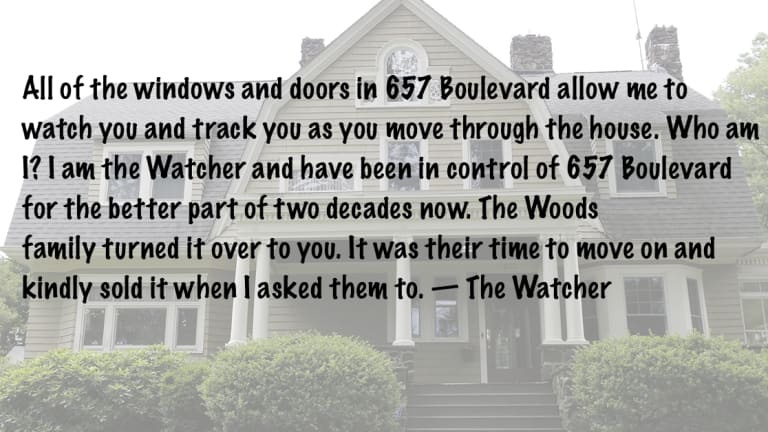 The Watcher. He terrorized a family with creepy letters…and his identity is still a mystery!