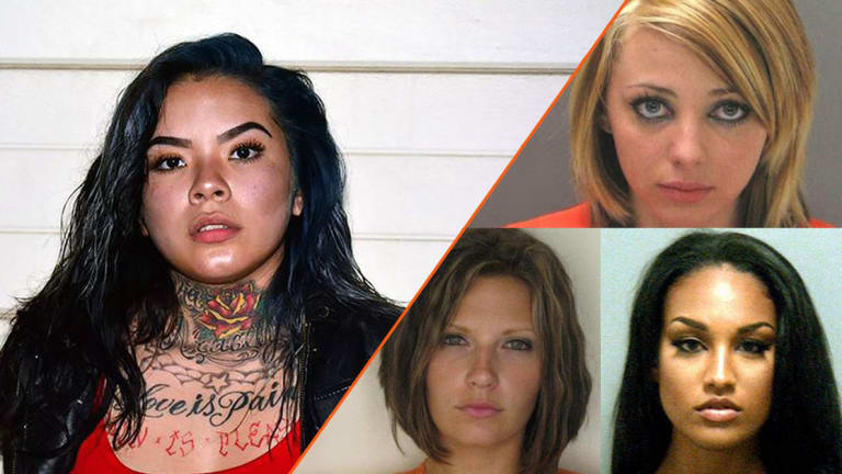 10 Hottest Female Felons