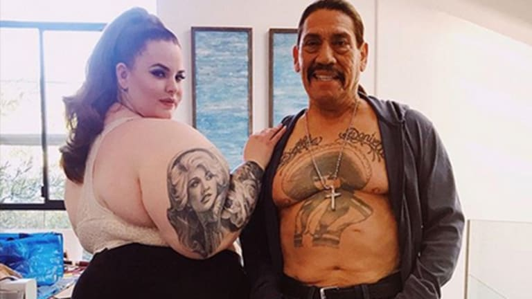 You Won't Believe The Reason Tess Holliday and Danny Trejo are Teaming Up