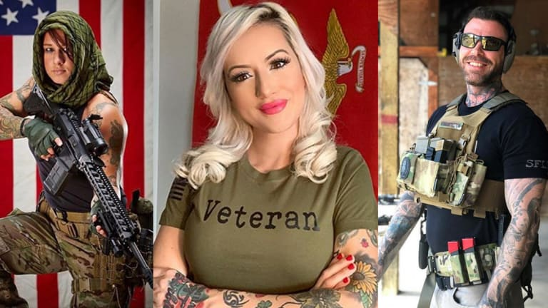 Celebrate Memorial Day with 25 Tattooed Veterans in the Armed Forces