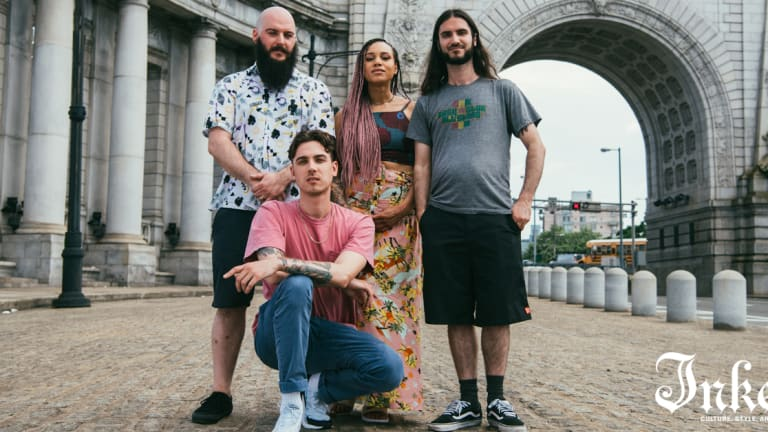 The Skints Talk Swimming Lessons, Tattoos, and Their Time Off Wading In Creativity