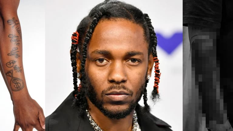 Kendrick Lamar's New Tattoo Took an Astounding 16 Hours to Complete