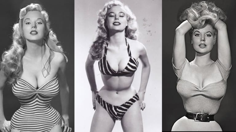 Meet the 1950s Pin-Up Model Known For Her Impossible Waist