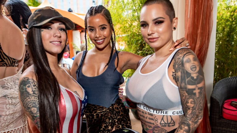 A Boogie wit da Hoodie Partied with Tattoo Models on Memorial Day and You Can Too!