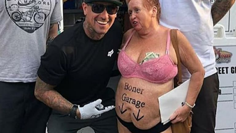 13 Old People with Surprisingly Vulgar Tattoos
