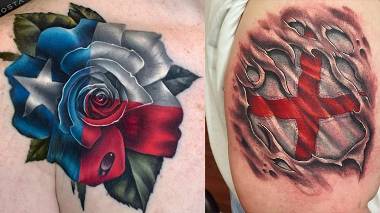 Celebrate Flag Day with 10 Patriotic Tattoos