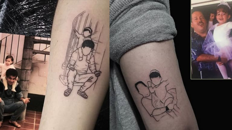 20 Tattoos for the World's Greatest Dad