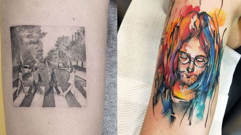 Celebrate Global Beatles Day with the Best Tattoos Across the Universe