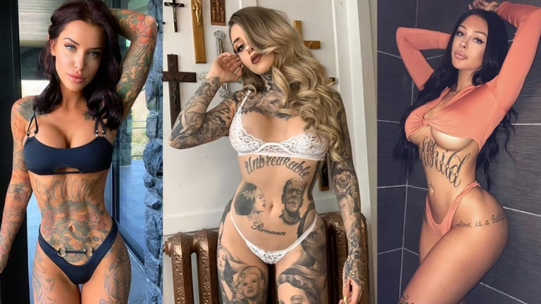 Take a Peek at 12 Gorgeous Tattoo Models Who Hail From Canada