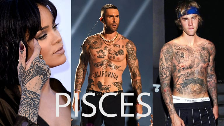 We Ranked Astrological Signs by Celebrity Tattoos