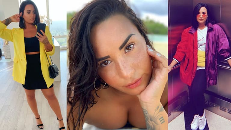 Demi Lovato Is Learning To Put Herself First, Not Only Through Her Tattoos, But Through Their Placements As Well