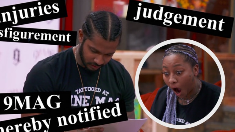 Black Ink Crew's 9MAG Sued Over Botched Tattoo