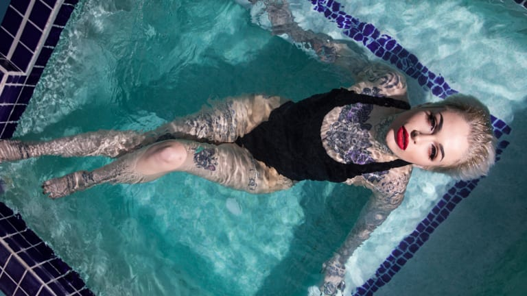 Leigh Raven Talks Being Heavily Tattooed in the Adult Industry