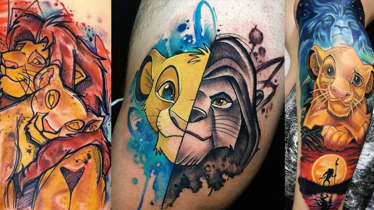Celebrate The Lion King with 25 Fierce Tattoos , Tattoo